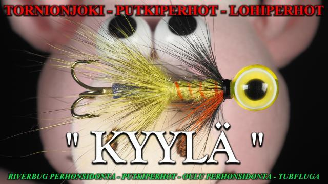 Perhonsidonta Oulu by RiverBug putkiperhot. #oulu #perhonsidonta #putkiperhot #riverbug #tornionjoki #lohiperhot #kalastusvälineet #lohi #kyylä