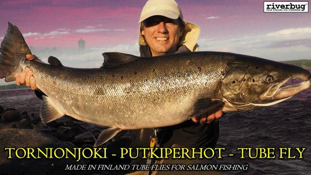 Tornionjoki - Maasaari - Lohi - Putkiperhot. #tornionjoki #maasaari #putkiperhot #lohi #lohenkalastus #tubfluga #tubefluer #lax #laxfiske #korpikylä #riverbug #valmisperhot