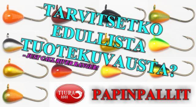 Tiura Papinpallit - Mormuskat pilkille Tiurasta! #tiurauistin #tiura #oulu #kalastusvälineet #kalakauppa #pilkki #rautupilkki