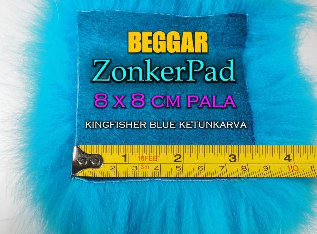 Zonker Ketunkarvat by Beggar - Oulu Perhonsidonta. #zonker #ketunkarvat #perhonsidonta #riverbug #beggar #oulu #kingfisherblue